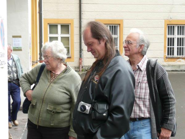P1000128 Ehepaar Fragner mit Jürgen