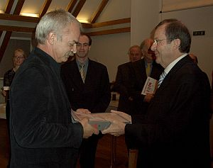 m800 - Franz Josef Ott Preisuebergabe